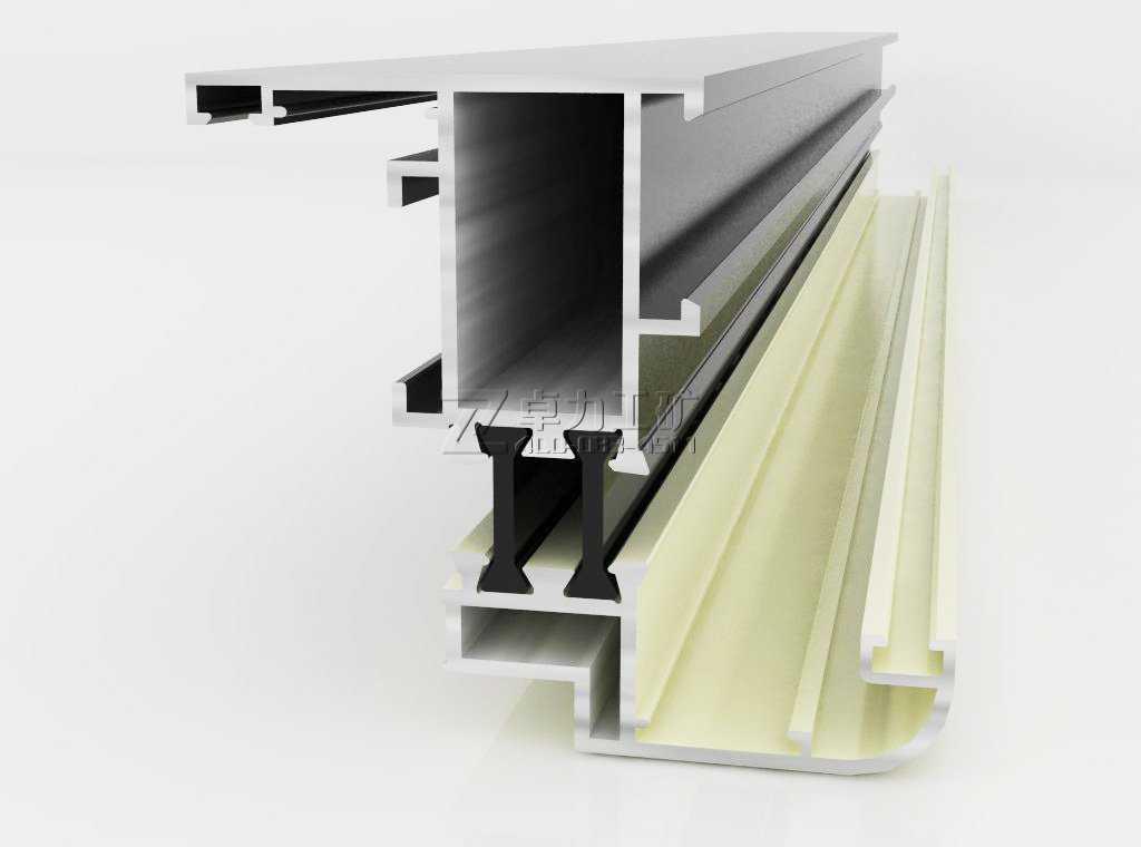 【隔热断桥铝型材】断桥隔热铝合金型材